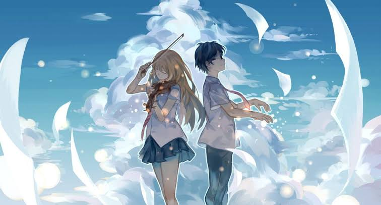 4. YOUR LIE IN APRIL